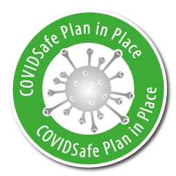 COVIDSafe Plan is in place at this event